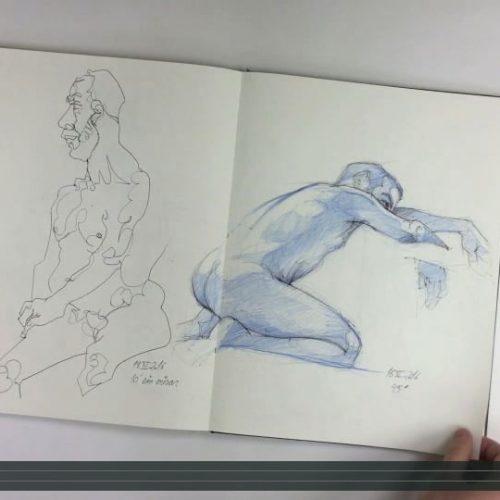 Creatical; Cuaderno de Modelo Vivo
