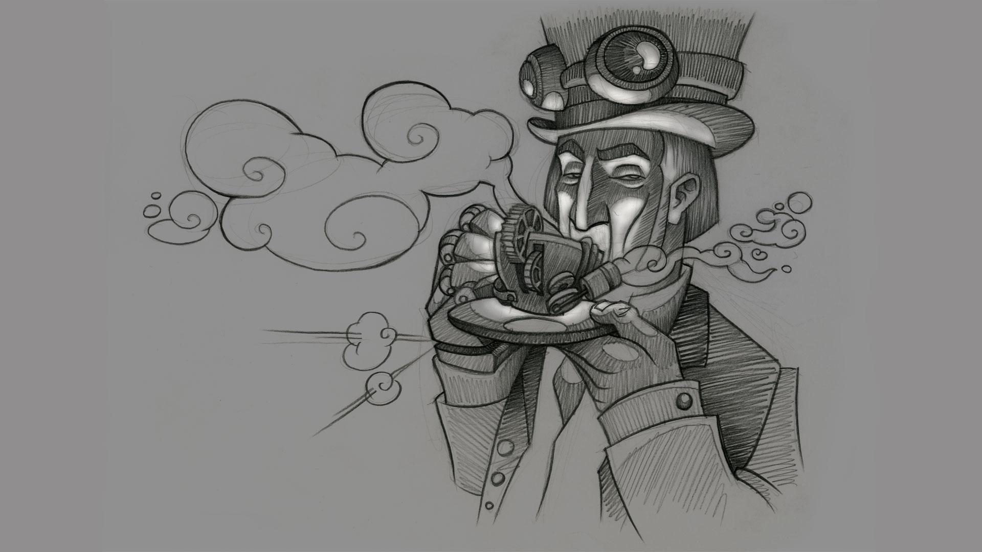 Creatical; Dibujos grises
